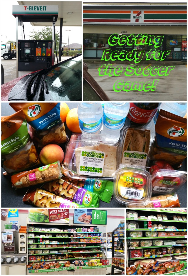Getting Ready for the Soccer Game at 7-Eleven #7EFresh #ad