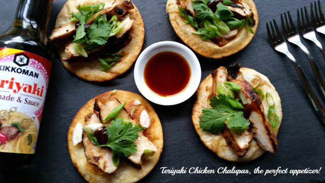 Teriyaki Chicken Chalupas the perfect appetizer recipe