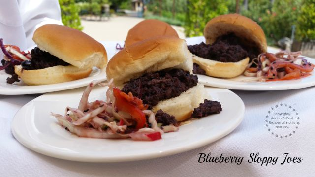 Blueberry Sloppy Joes another recipe favorite  #LittleChanges