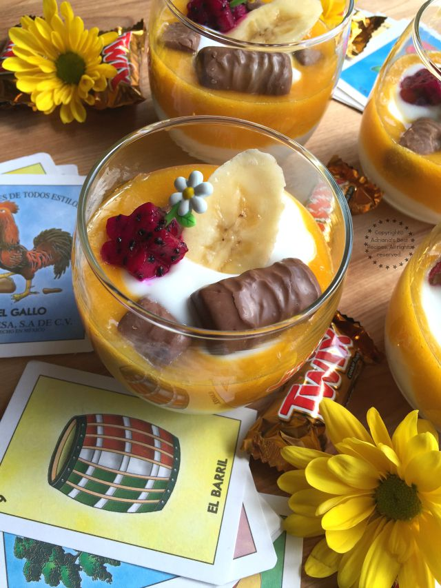 Tropical Parfait and La Merienda Tradition #FunSizeMerienda #ad
