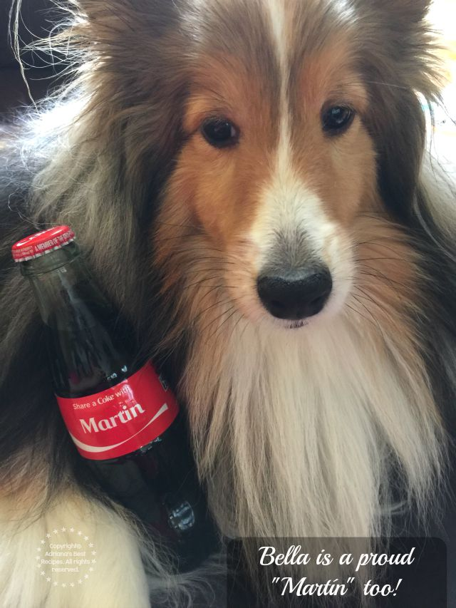 Bella is a proud Martin too #OrgullosoDeSer #ad