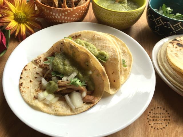 Lean carnitas tacos recipe #Porknostico #ad