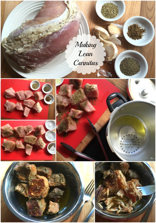 Making lean carnitas for tacos #Porknostico #ad
