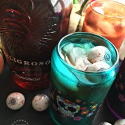 Peligroso Tequila Iced Coffee Recipe for Halloween or Day of the Dead
