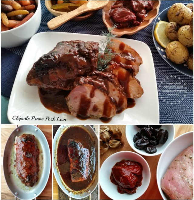 Cooking the Chipotle Prune Pork Loin Recipe
