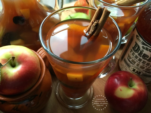 The colder weather and the holidays call for a traditional Mexican Holiday Fruit Punch or Ponche