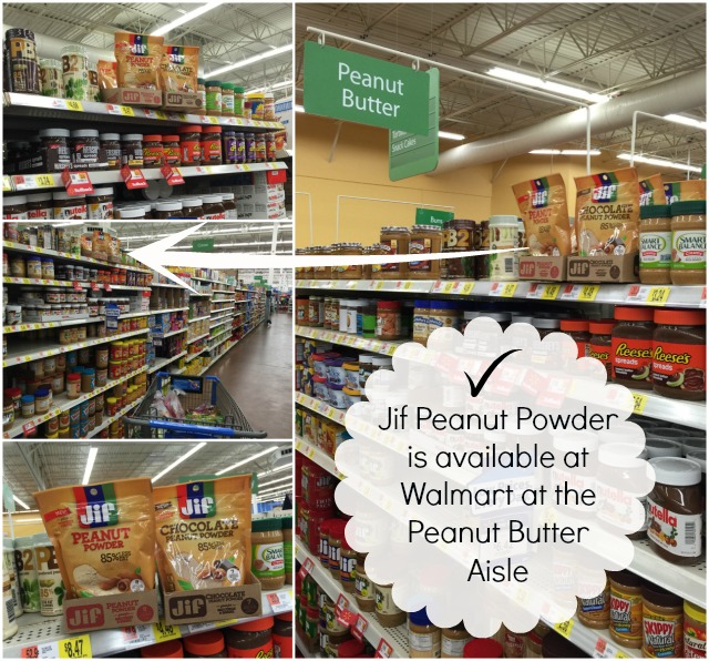 Jif Peanut Powder is available at Walmart #StartWithJifPowder AD