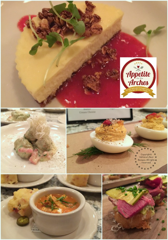 Menu preview for Appetite for the Arches 2016