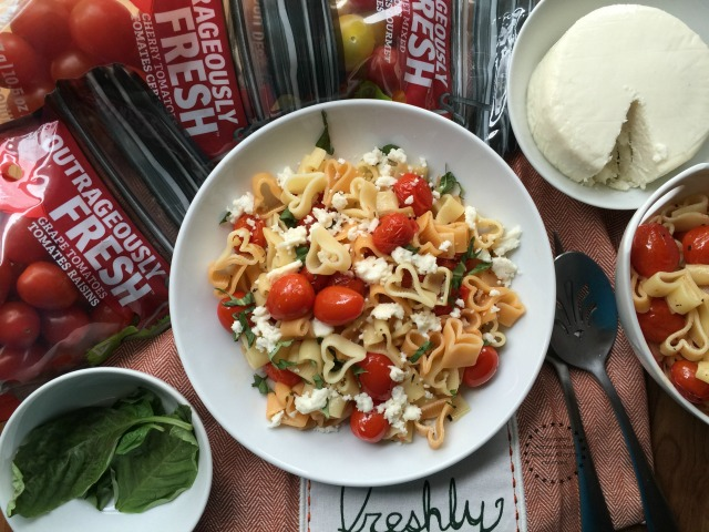 This tomato love pasta is outrageously fresh and delicious