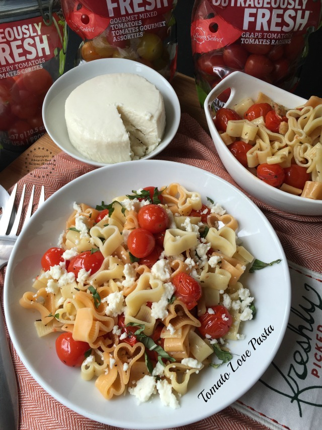 Tomato Love Pasta a recipe that will conquer your taste buds with the delicious flavor of fresh tomatoes