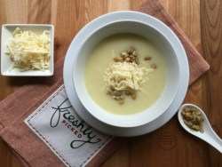 Cooking this chayote cream soup for my family is like bringing my moms dish alive