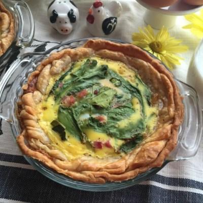 Egg Breakfast Pie