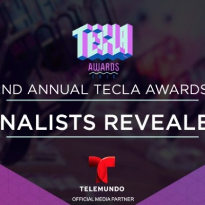 We are Finalists at the Tecla Awards