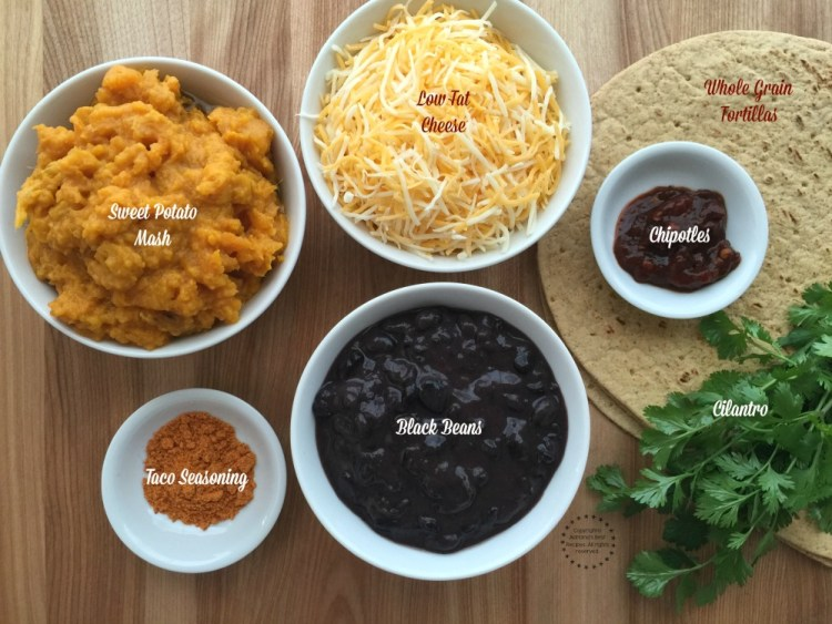 Sweet Potato Black Bean Quesadillas - Adriana's Best Recipes
