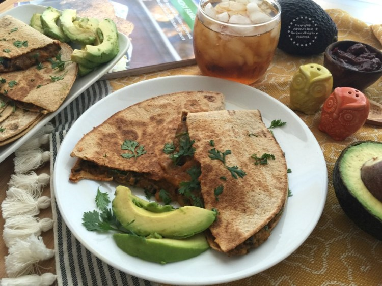 Sweet Potato Black Bean Quesadillas Recipe