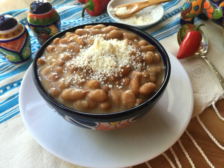 My great grandmother taught me how to make mayocoba beans and since then I love to cook them