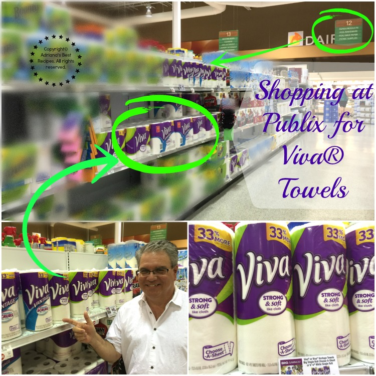 Shopping at Publix for Viva® Towels