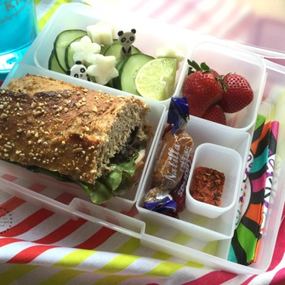 Mexican Bento Box for Lunch