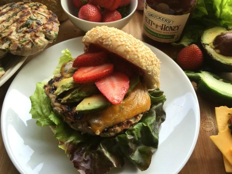 Strawberry Jalapeno Turkey Burger
