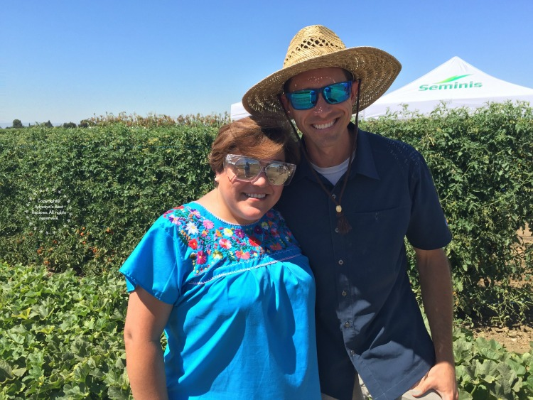 Breeders like my friend Jeff are responsible for us to enjoy tasty cantaloupes and melons