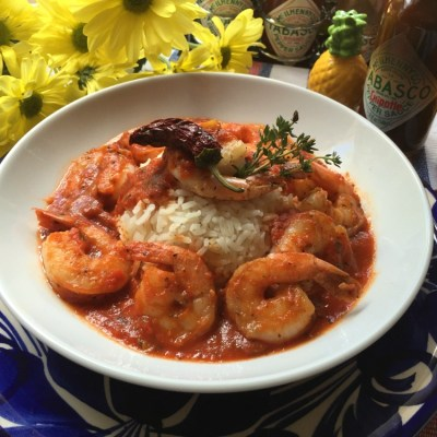 Shrimp Diabla and Hispanic Heritage