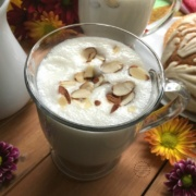 Comforting Almond Atole for Breakfast