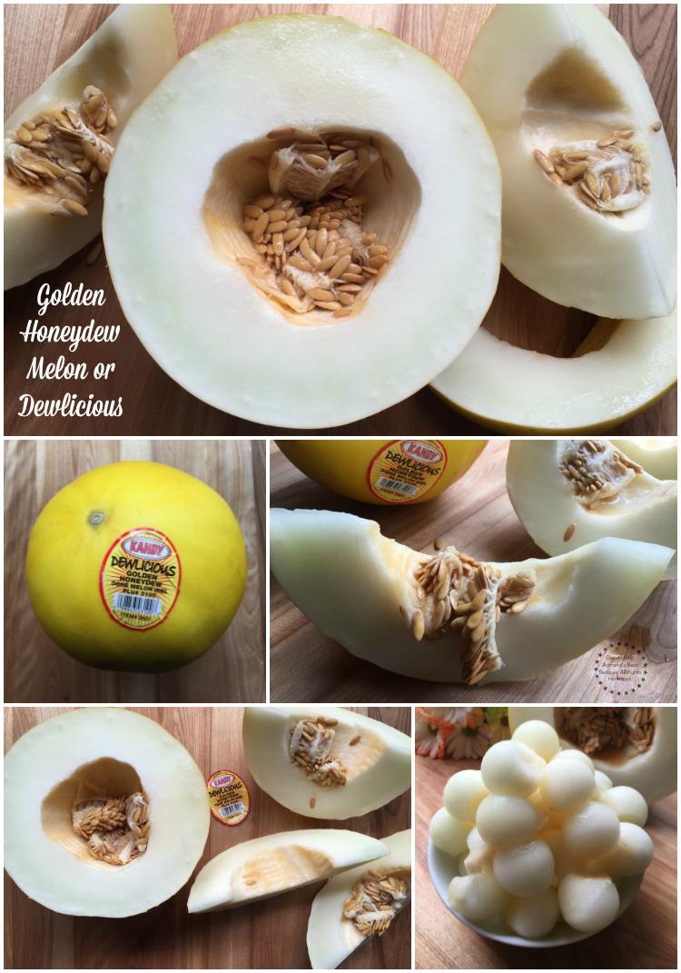 Golden Honeydew Melon or also called Dewlicious
