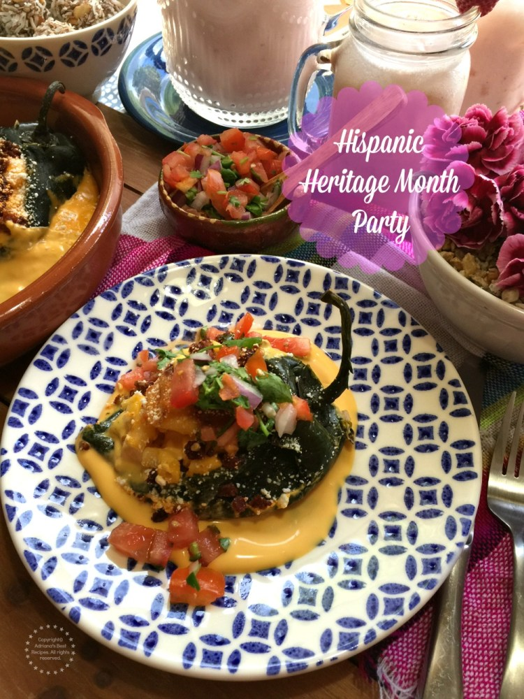 Organizando la Fiesta de la Hispanidad cocinado deliciosos platillos con la ayuda de algunos de nuestros productos favoritos de la marca NESTLE