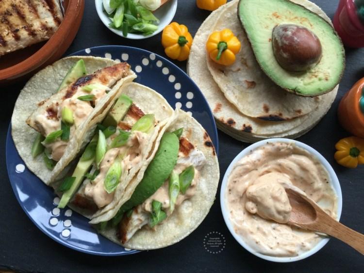 Spicy mayo fish tacos recipe adriana 39 s best recipes for Spicy fish tacos