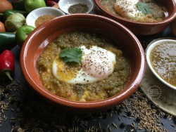 The Green Ranchero Eggs recipe is a staple of my Mexican cuisine