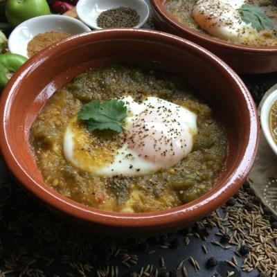Green Ranchero Eggs Recipe
