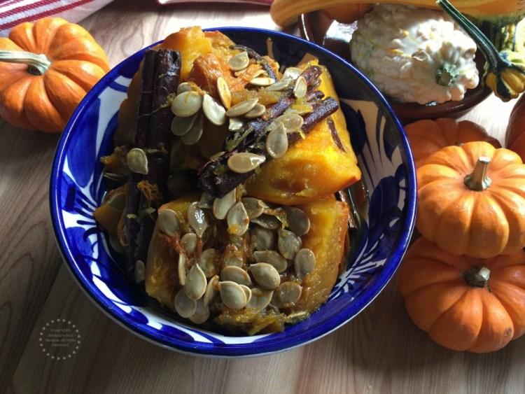 Candied Pumpkin inspired in my Great Grandmothers original recipe