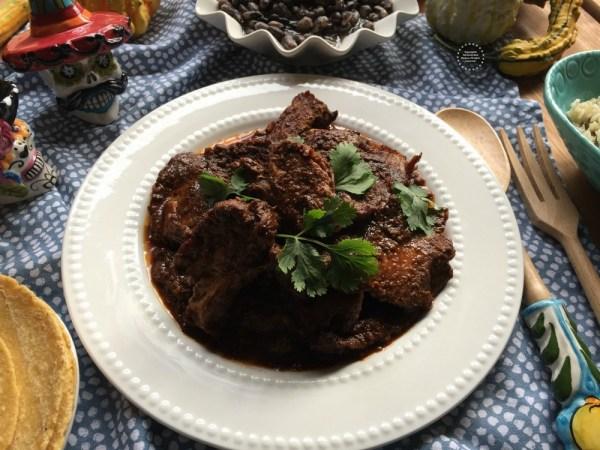 Mexican Adobo Pork Shoulder Dinner