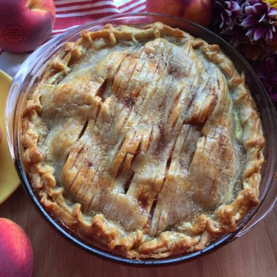 Peach Pie for the Holidays