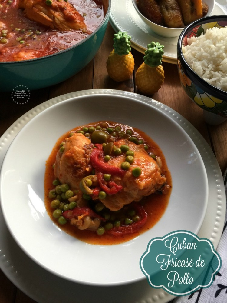 Saborea tu cultura with Sedano's and cook this Cuban Chicken Fricassee
