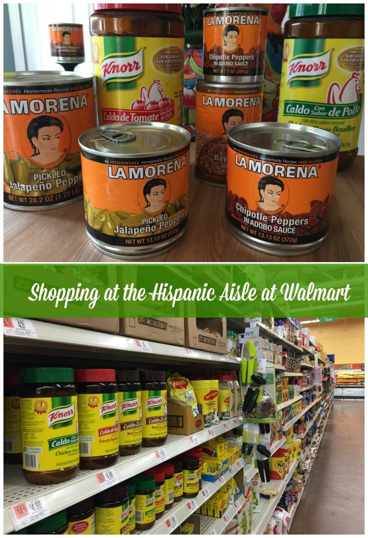 Siempre encuentro mis productos favoritos de Knorr® y La Morena® en Walmart justo en el pasillo hispano.