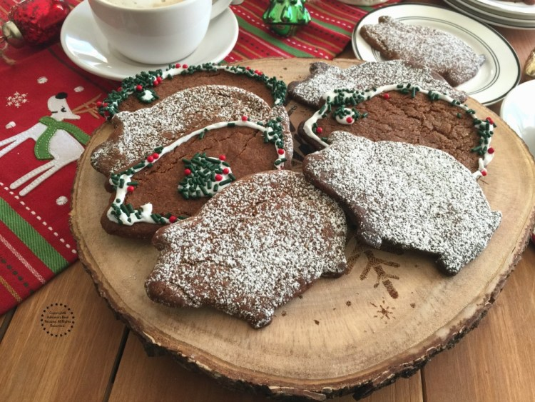 Mexican Piloncillo Ginger Cookies for the holidays