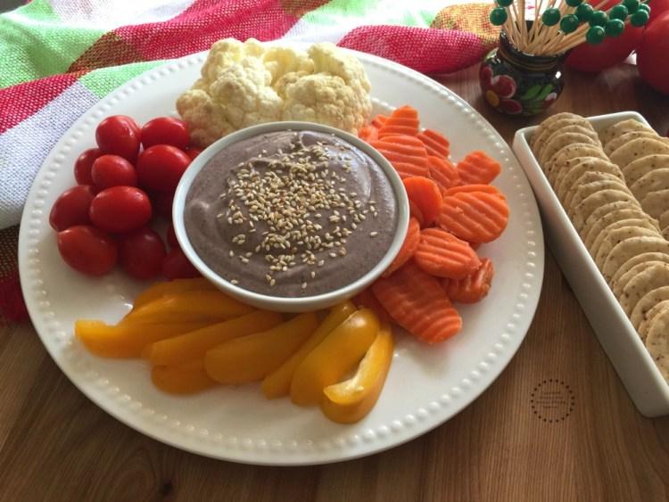 Black Bean Hummus ready in few minutes