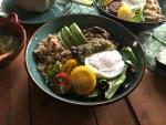 Una receta sabrosa para un platillo mexicano vegetariano