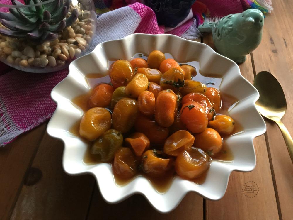 Naranjas Chinas Confitadas con Panal