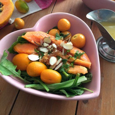 Kumquat Papaya Gooseberry Salad