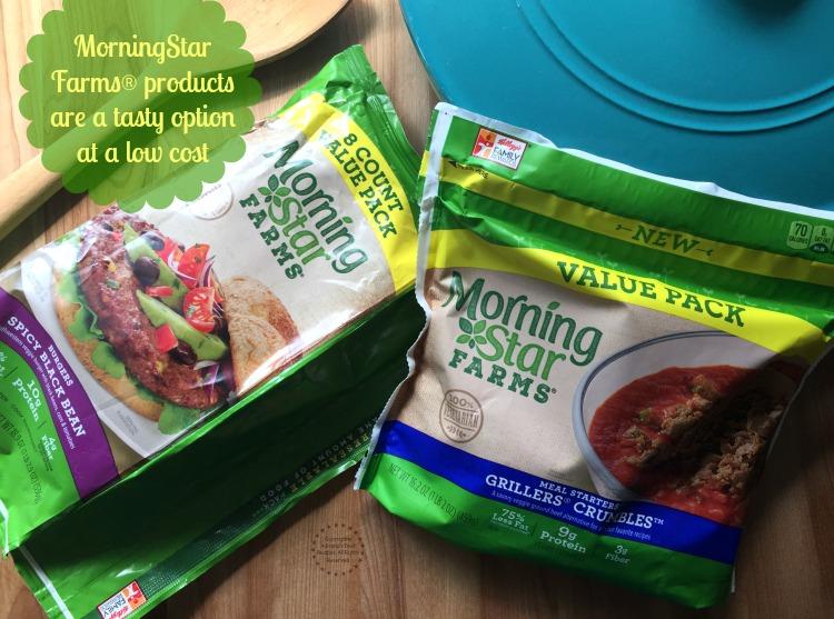 Los productos MorningStar Farms son una opción sabrosa y de bajo costo