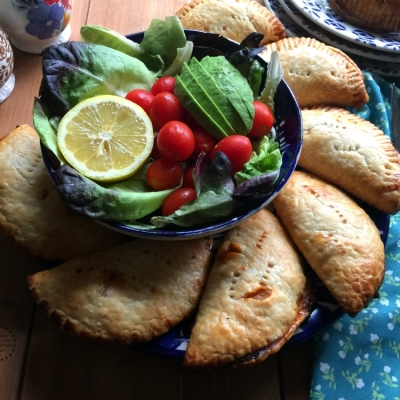 Spanish Salmon Empanadas for Lent