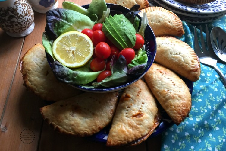 Spanish Salmon Empanadas for Lent