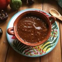 Salsa Taquera de Chile Cascabel