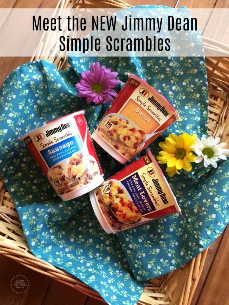 Conoce los NUEVOS Jimmy Dean Simple Scrambles en Walmart