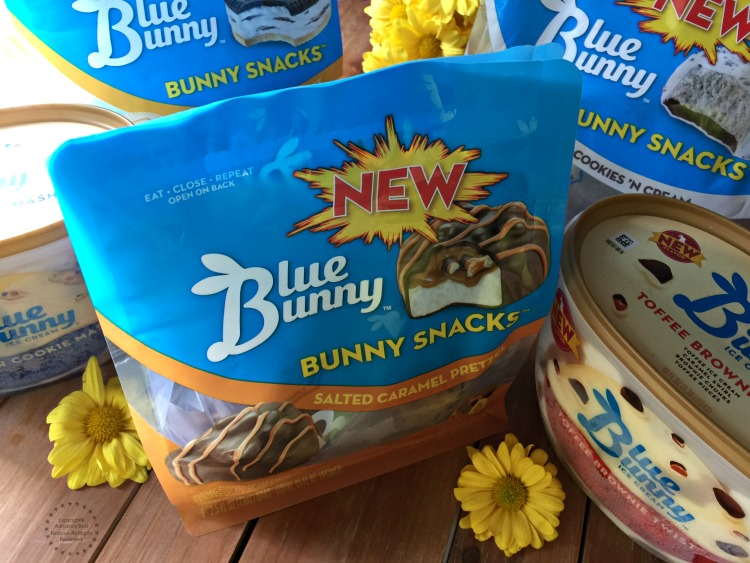 Meet the NEW the Blue Bunny Bunny Snacks