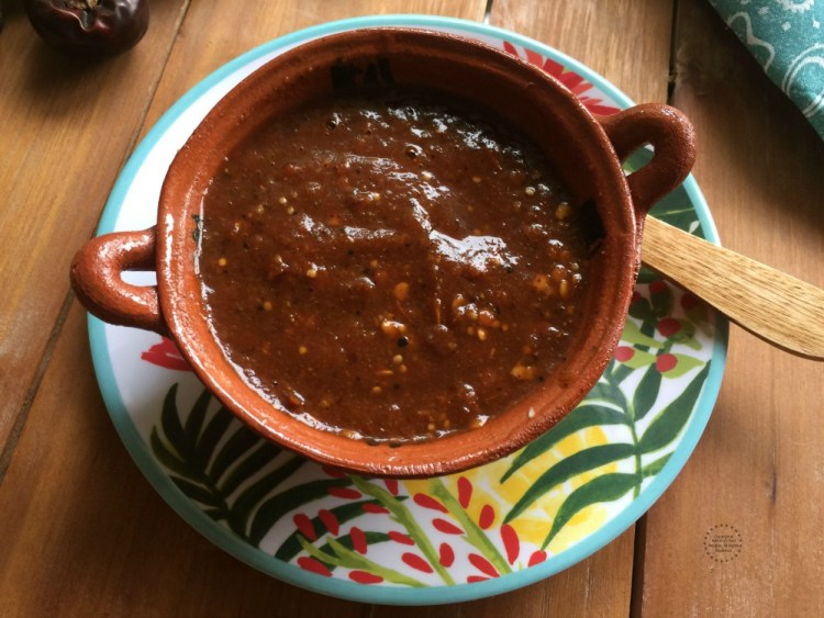 Spicy sauces like this cascabel taquera sauce bring the authentic flavor of Mexico to my table