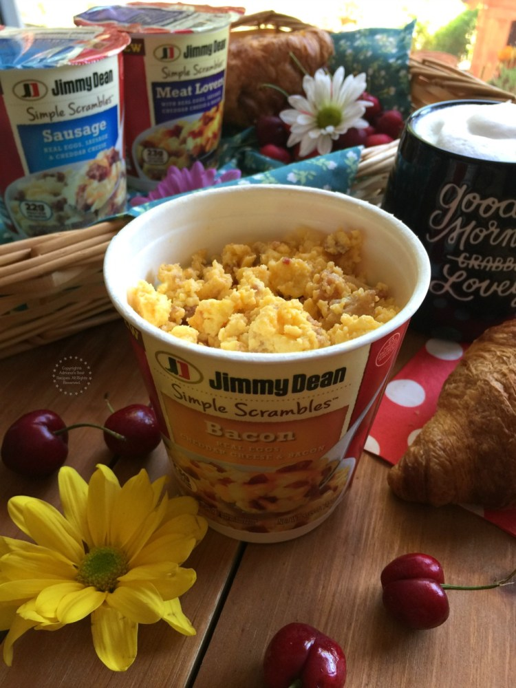 The NEW Jimmy Dean Simple Scrambles are the perfect solution for those days when there is no time to prepare a yummy breakfast fast without complications