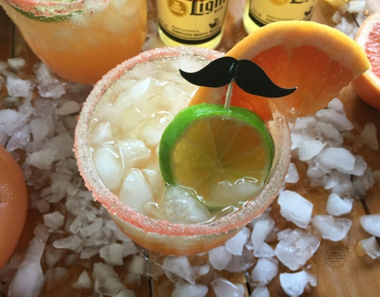 Try this Mexican Beer Paloma Cocktail on your next party